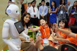 robot singapour ecole actu digital 2