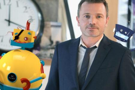 Benoît Raphaël, « éleveur de robots » journalistes capables d'apprendre de manière autonome