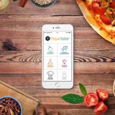 Etiquettable : une application pour connaître les aliments et manger responsable