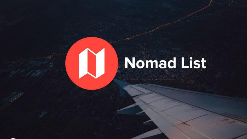 nomad-list actu digital 2