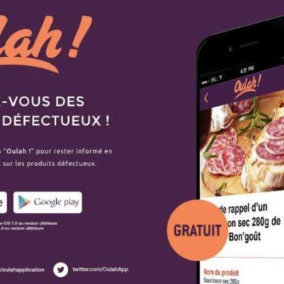 Oulah ! : une application pour identifier les produits défectueux ou impropres