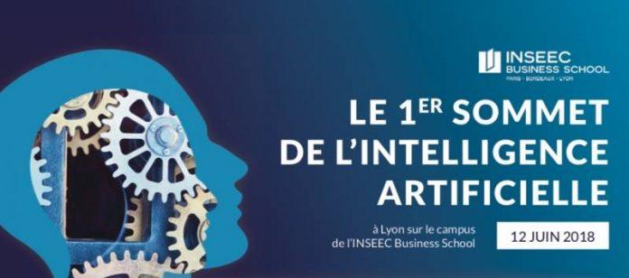 1er sommet de l'intelligence artificielle pour l'INSEEC – 12 juin 2018