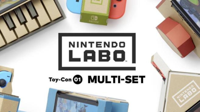 Gagnez une Nintendo Lab sur @migrosmagazine