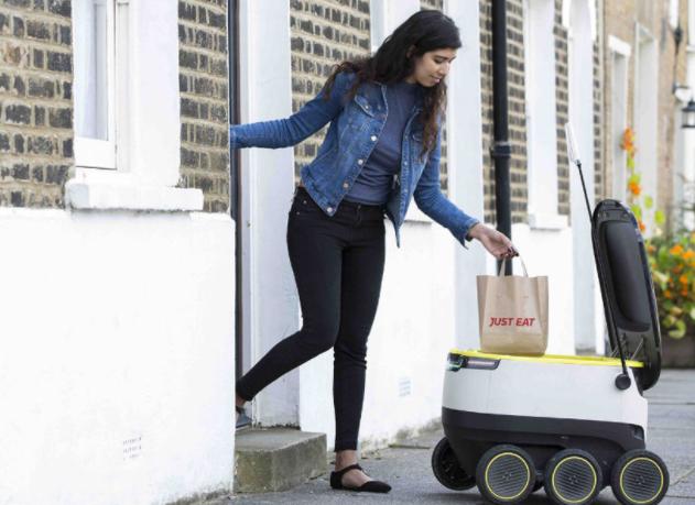 Les robots livreurs de nourriture