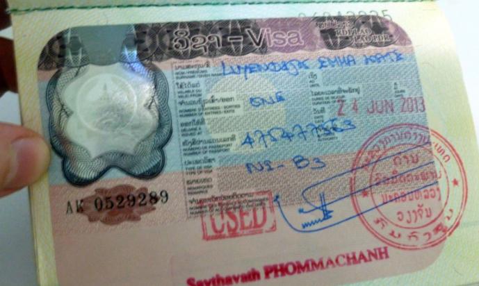 Le Laos pourrait lancer un e-visa