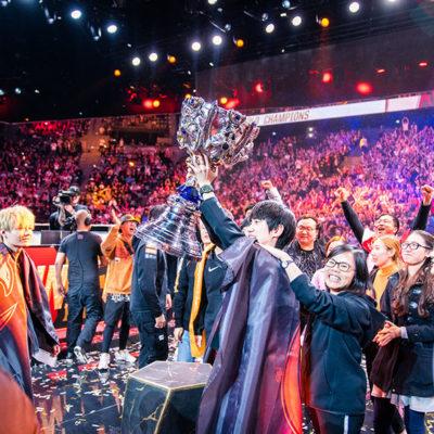 Les nouveaux rois des eSports, couronnés à Paris